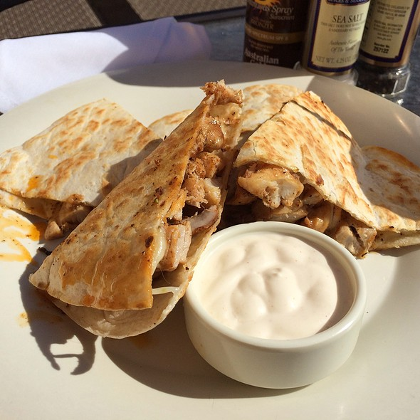 Seafood Quesadilla At Patio Bar U0026 Grill In Deerfield Beach, FL