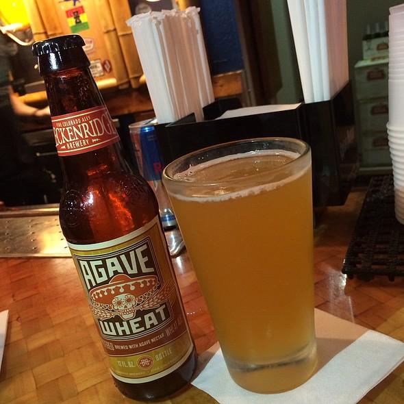 Breckinridge Agave Wheat  @ Kahuna Bar