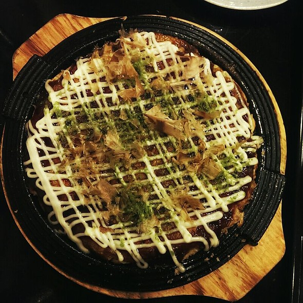 Okonomiyaki @ Sonoya Japanese Noodle House