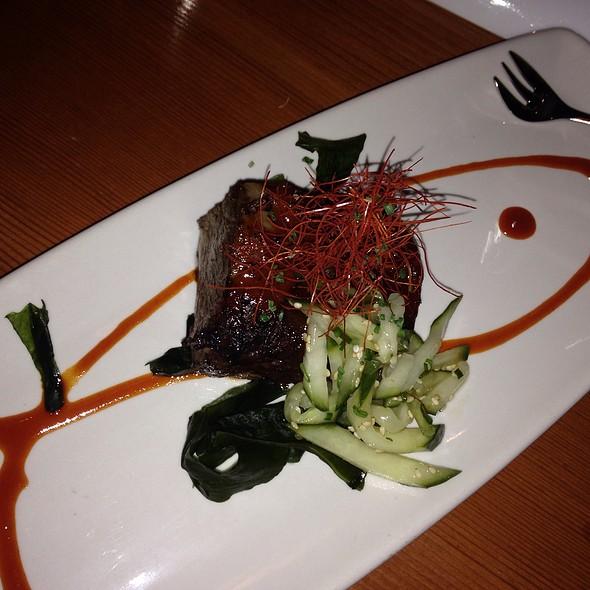 Braised Beef Short Rib With Kochijang Sauce - Matsuhisa Aspen, Aspen, CO