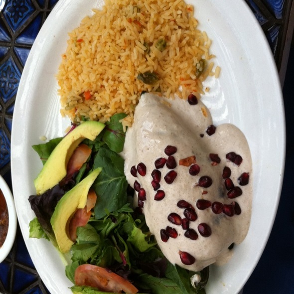 Chile En Nogado @ La Fogata Mexican Cuisine