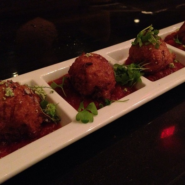 Pork Belly Beignets @ Lincoln