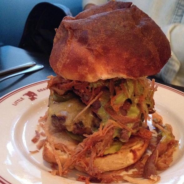Goat Almighty Burger @ Little Goat