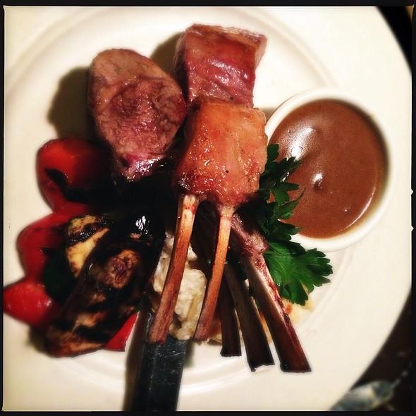 Lamb Chops With Marsala Cream Sauce - Bistro Casanova, Kahului, HI