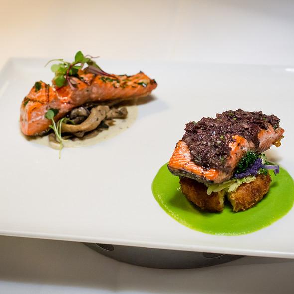 Salmon Two Ways - COAST Restaurant, Vancouver, BC
