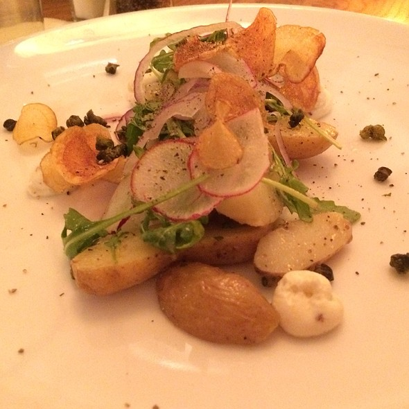 Salt-Roasted Fingerling Potato Salad @ the girl & the fig