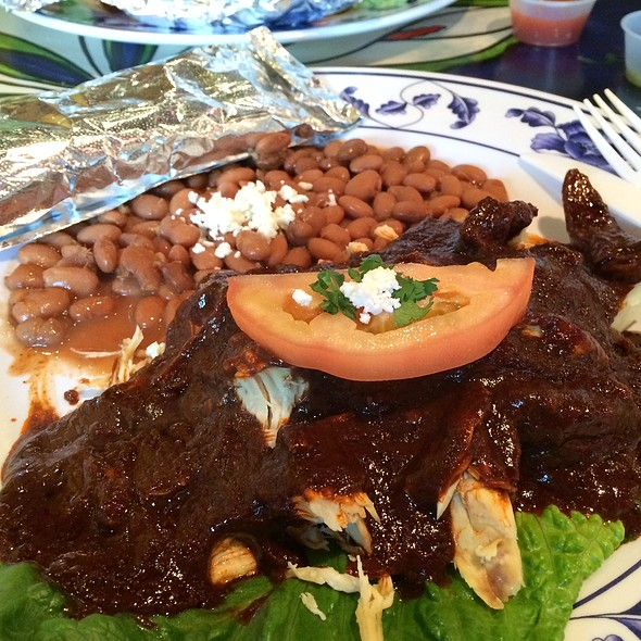 Special Chicken Mole