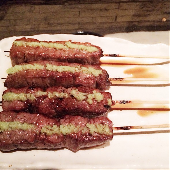 Kobe Beef Fillet with Wasabi @ Aburiya Raku Restaurant