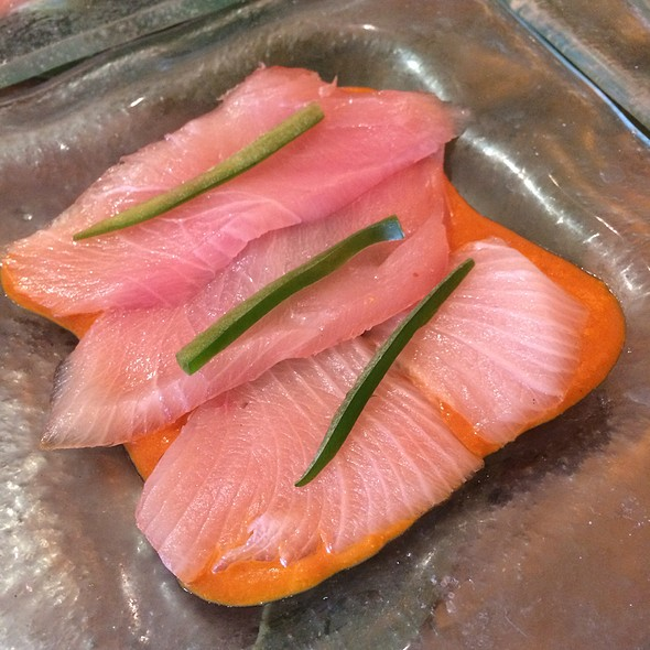 Yellowtail Sashimi Tiradito @ Sushi Samba Dromo