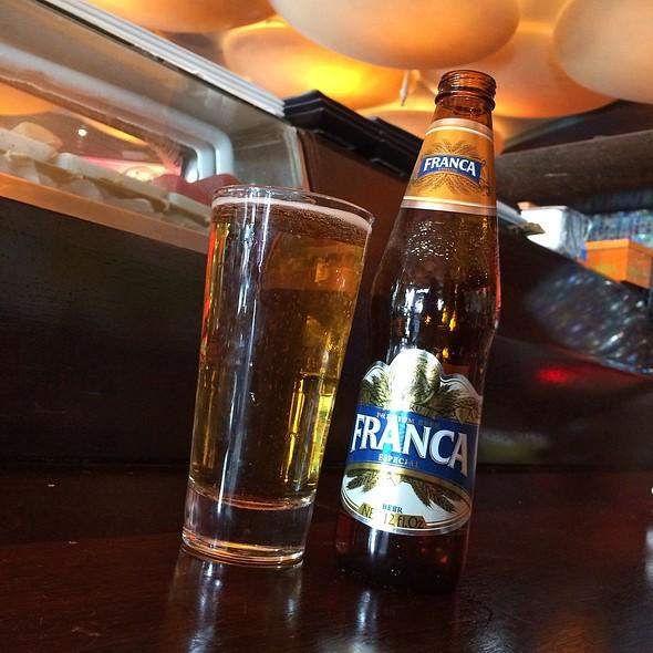 Franca Especial Beer @ Sushi Samba Dromo
