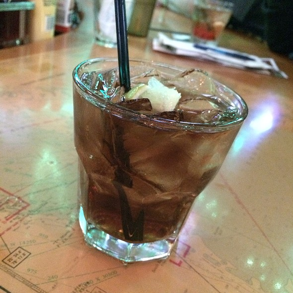 Barcardi Gold And Diet Coke @ Flanigan's Seafood Bar & Grill