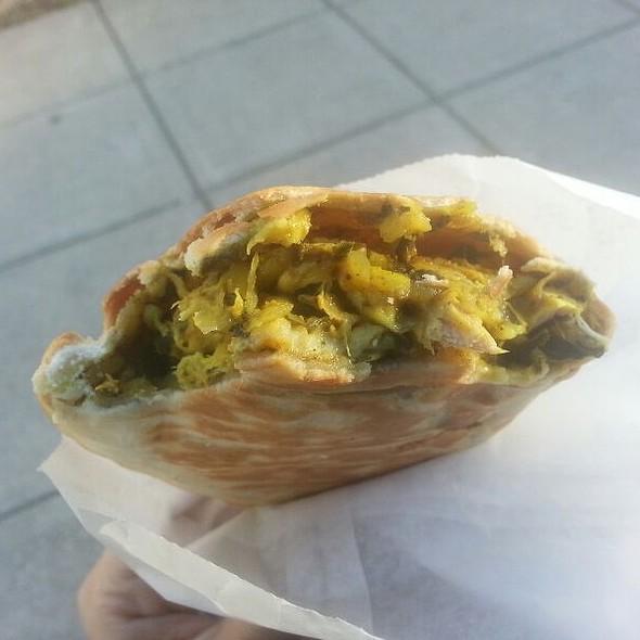 Curry Chicken Empanada @ Julia's Empanadas