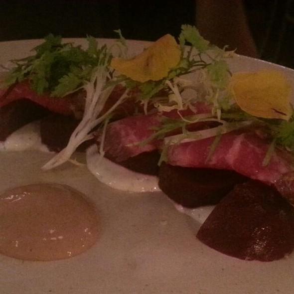 Beef Carpaccio @ Vinoteca