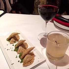 Pork And Pepper Empanadas - Pamplona Tapas Bar and Restaurant, Lafayette, LA
