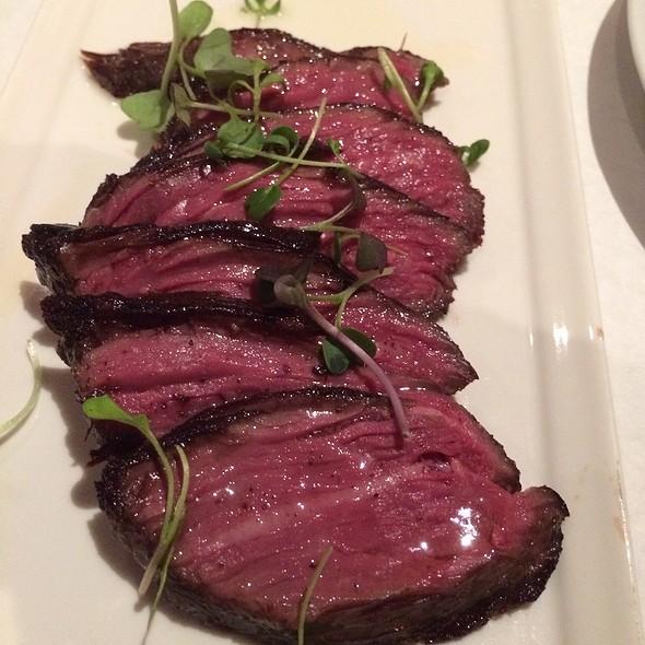 Sous Vide Hanger Steak - Pamplona Tapas Bar and Restaurant, Lafayette, LA