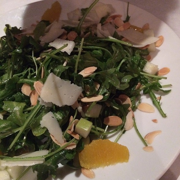 Arugula And Manchego Salad @ Pamplona Tapas Bar