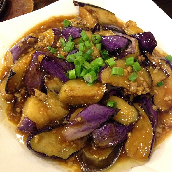 Eggplant with Pork @ Sichuan Chili Chinese Restaurant