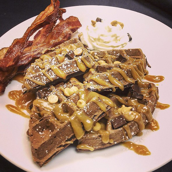 Reese's Peanut Butter Waffles @ Signature Grill at the JW Marriott Starr Pass Resort & Spa