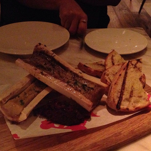 Roasted Bone Marrow - D.O.C.G. Enoteca by Scott Conant, Las Vegas, NV