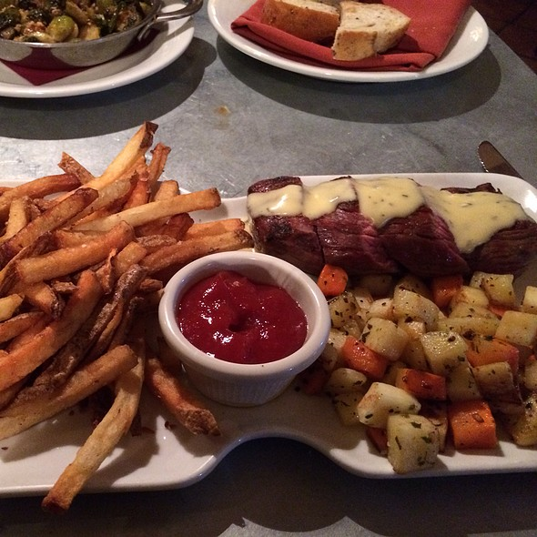 Steak Frites - Crop Vermont Bistro & Brewery, Stowe, VT