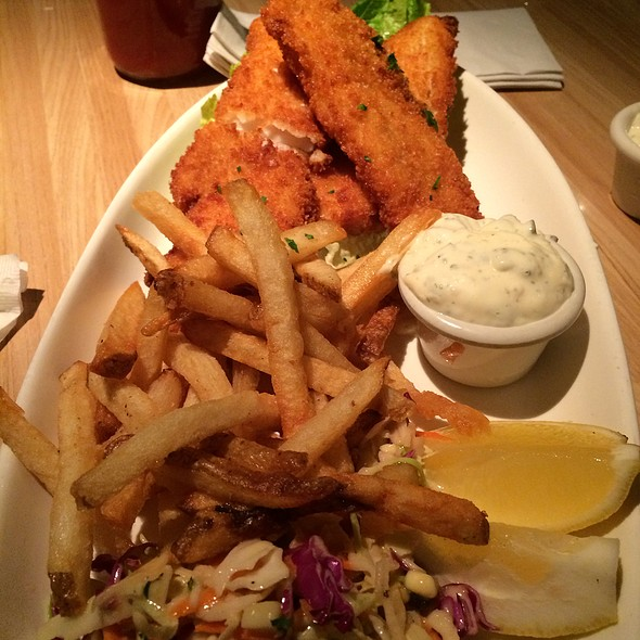 Fish and Chips @ Breakaway Cafe