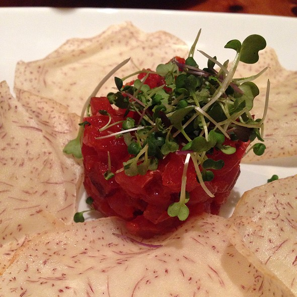 Spicy Tuna Tartar - Chouquet's, San Francisco, CA