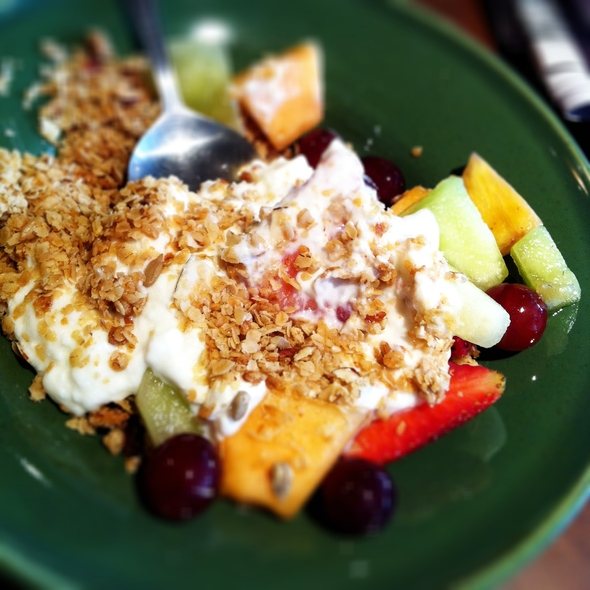 Granola With Fruit And Yogurt @ Melriches Coffeehouse
