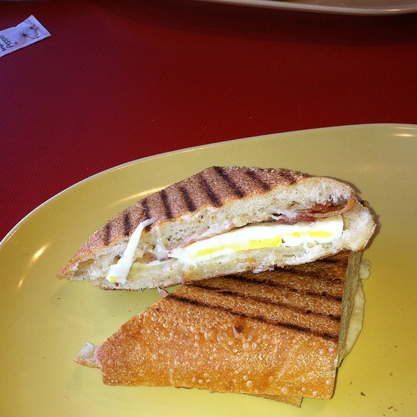 Bacon, Egg & Cheese On Ciabatta @ Panera Bread