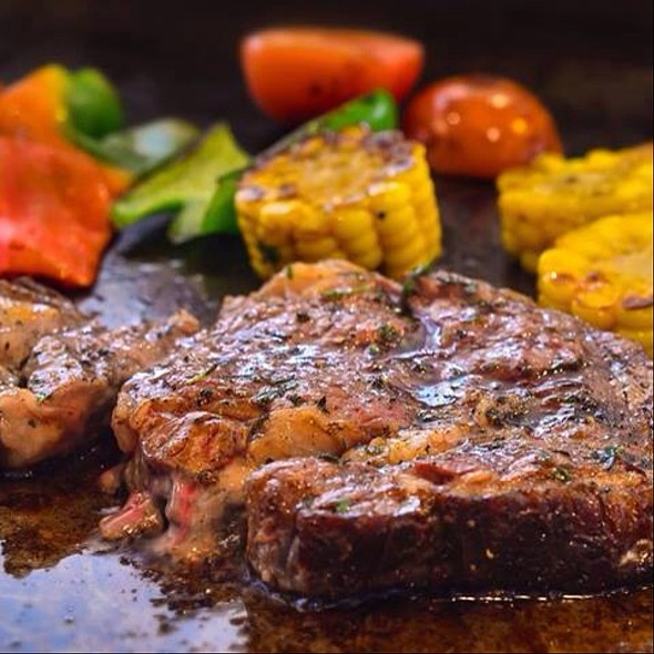 Angus Beef Steak @ Acaci Cafe- Filinvest City