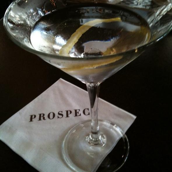 Martini a la Daniel @ Prospect