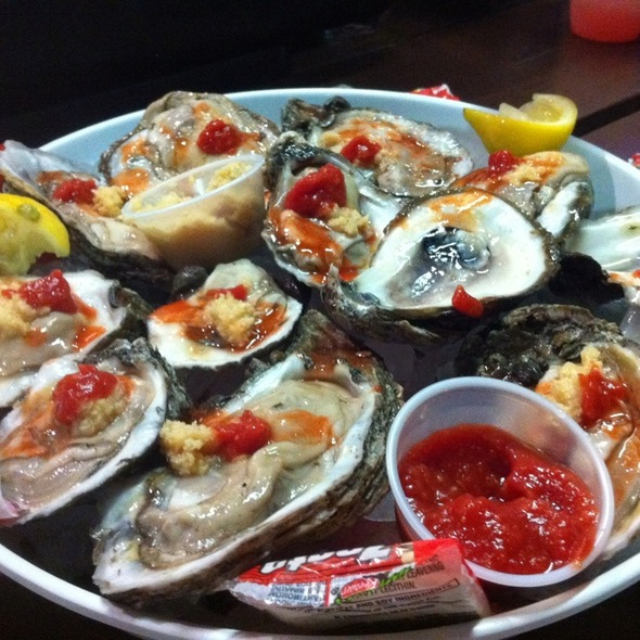 raw oysters @ Cortez Kitchen