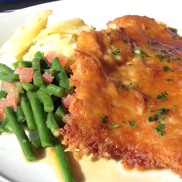 Parmesan Crusted Chicken - Eiffel Tower, Las Vegas, NV