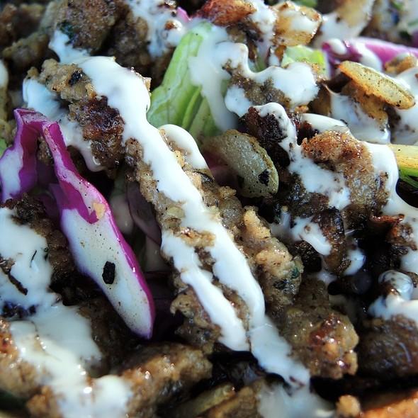 Gyro Salad @ Royal Egyptian Cuisine