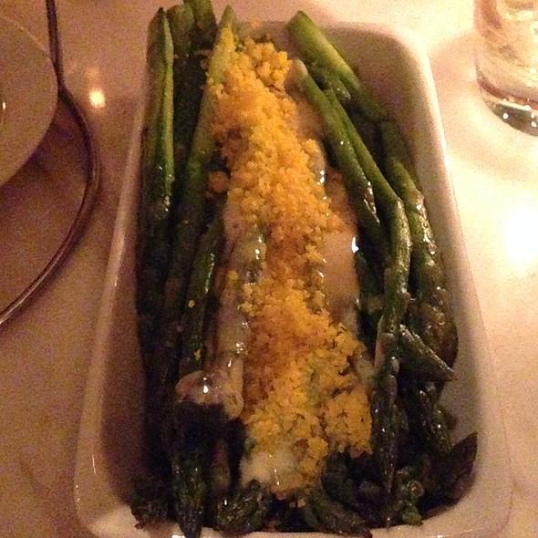 Grilled Asparagus - D.O.C.G. Enoteca by Scott Conant, Las Vegas, NV