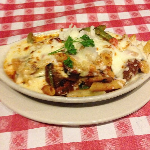 Baked Sausage Ragu - Vinny Vanucchi's 'Little Italy' - Galena, Galena, IL