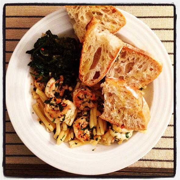 Shrimp Scampi @ Cafe Martin