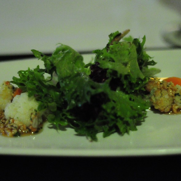 Roasted Cauliflower Salad - Bluestem, Kansas City, MO