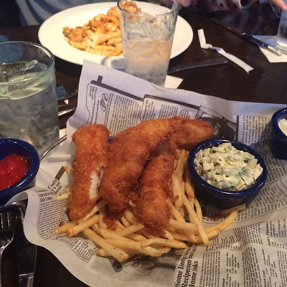 Fish and Chips @ Fords Fish Shack