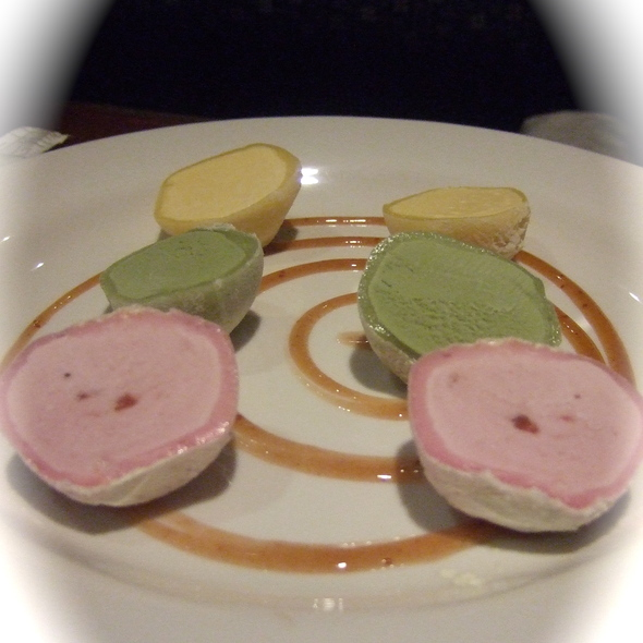 Mochi Ice Cream Trio @ Oiwake
