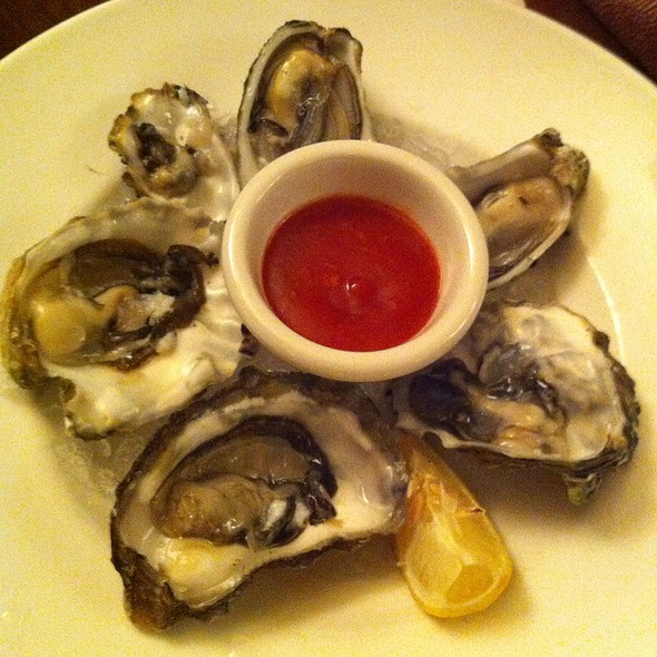 Oysters on the Half Shell - Puccini & Pinetti, San Francisco, CA
