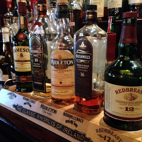 Great Whiskey - Frank O'Dowd's Irish Pub and Grill, Galena, IL