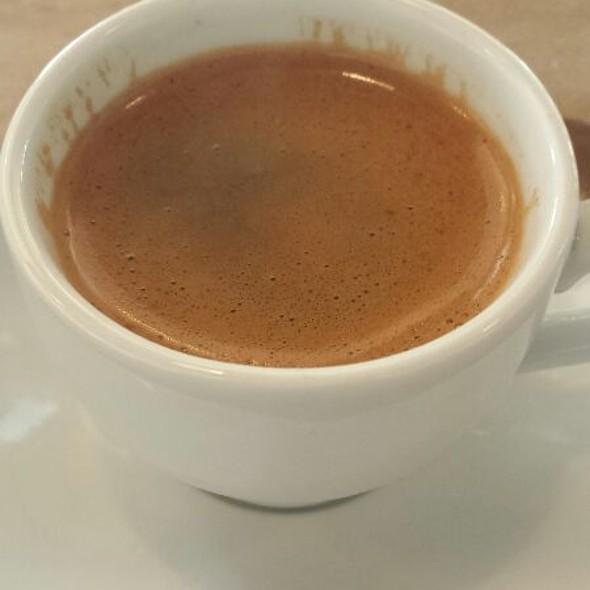 Authentic Greek Coffee @ Black Olive