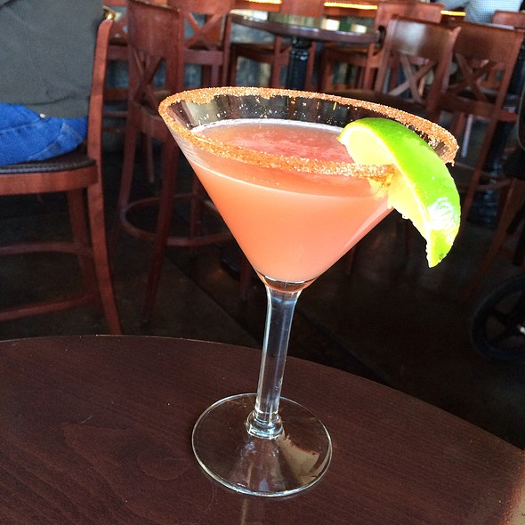 Mandarin Serrano Martini @ Guaymas Restaurant