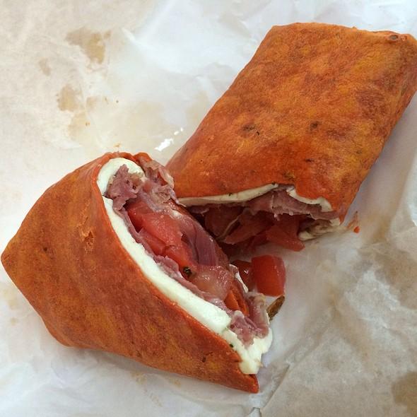 Prosciutto Mozzarella Wrap @ Work