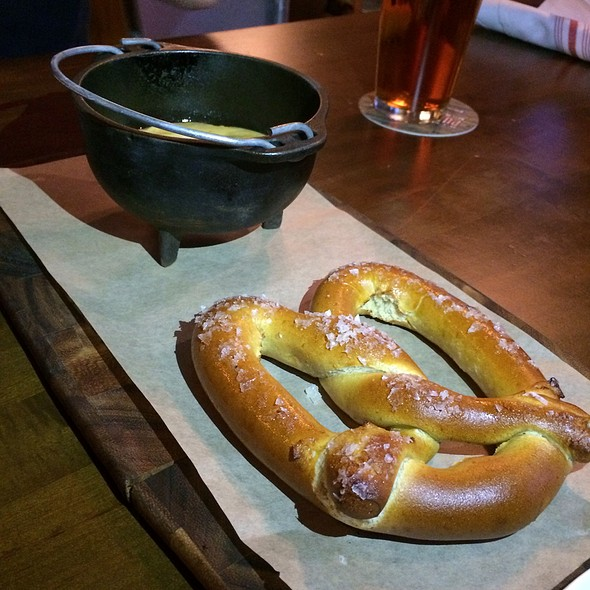 Beer Cheese Pretzel @ Himmarshee Public House