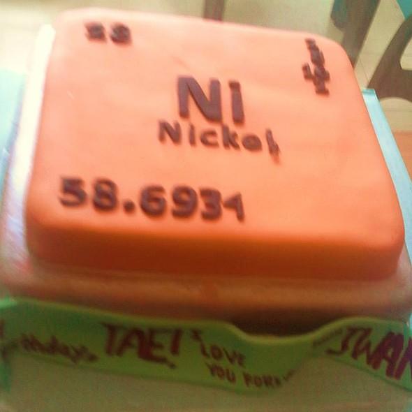 Birthday cake @ Kaffe Tazinah