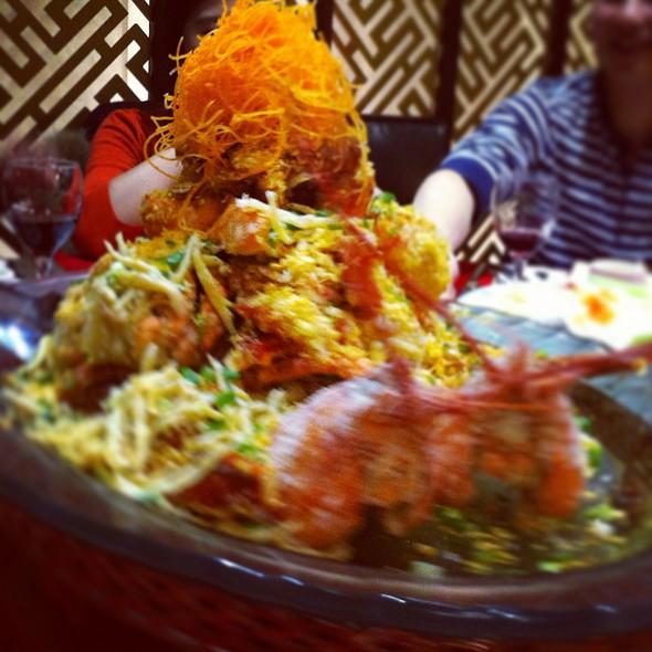 Deep fried lobster @ Fisherman Club House