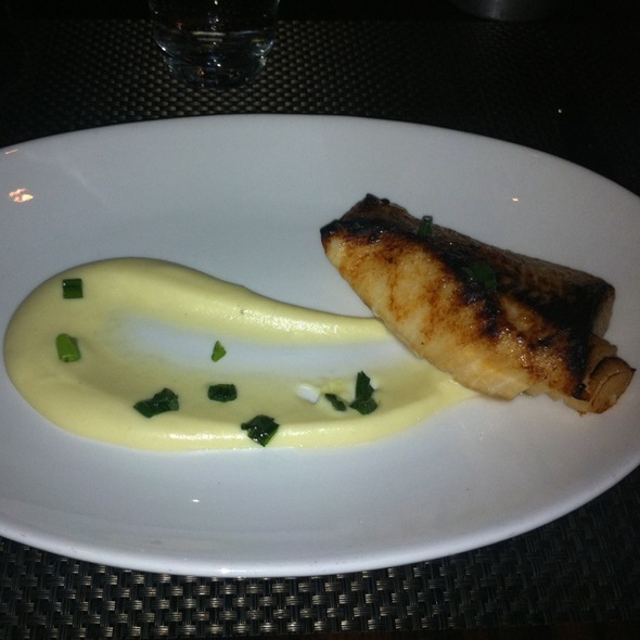 Black Cod With Honey Glaze @ Blt Steak