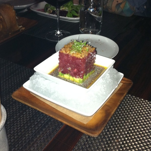 Tuna Tartare - BLT Steak, New York, NY