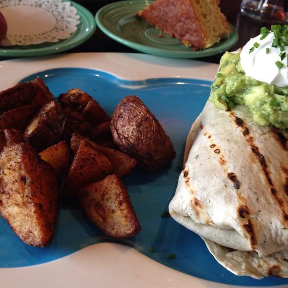 Breakfast Burrito - Pond House Cafe, West Hartford, CT
